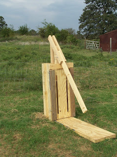 Making a hand baler for Straw bale garage plans