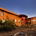 "Owner/builder Glen Neff designed and built this beautiful straw bale house in New Mexico.  To view his web site and listen to his great music click <a href=""/othersites/glenneff/"" target=""_blank"">here.</a> "