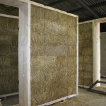 The ModCell® system utilizes the thermal insulation qualities of straw bale construction to form prefabricated panels. www.Modcell.com