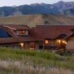 Stunning straw bale home by Prairie Wind Architecture, p.c., Jeff Shelden, Architect.  Click here for more information.  Photo credit Lois Shelden.