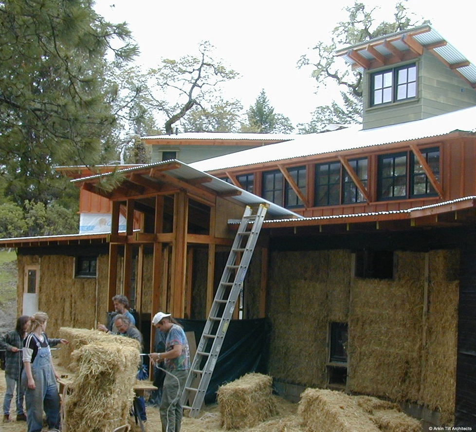 the straw bale house pdf