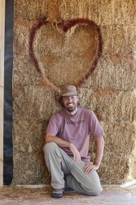 Andrew Morrison straw bale teacher