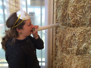 Talking Through Straw Bale Walls