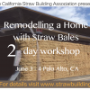 CASBA straw bale workshop Flyer