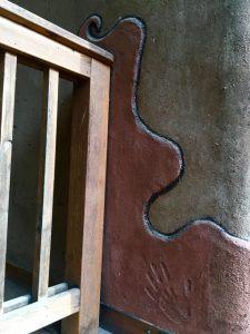 straw bale plaster detail