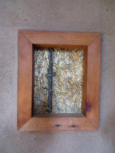 straw bale truth window