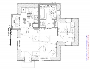 Straw Bale Design Floor Plan