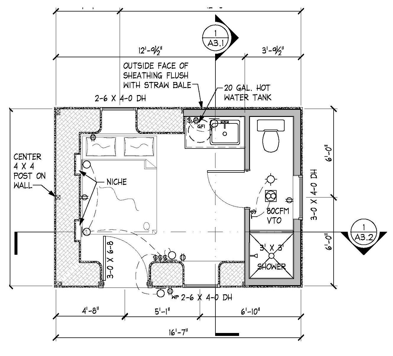 Free straw bale home plans home design and style for Straw bale home designs