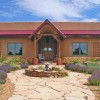 straw bale house exterior
