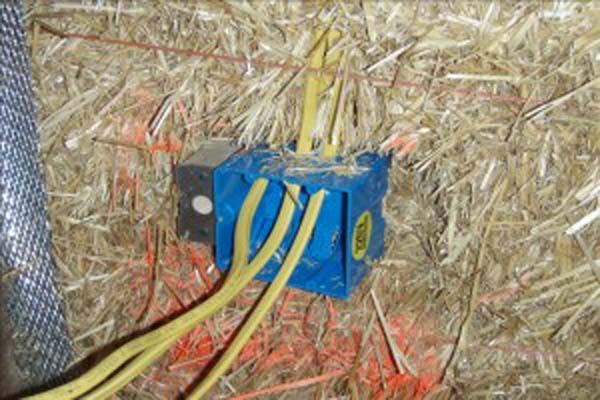 Day 15-electrical Details - Strawbale Com