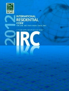 straw bale building code IRC