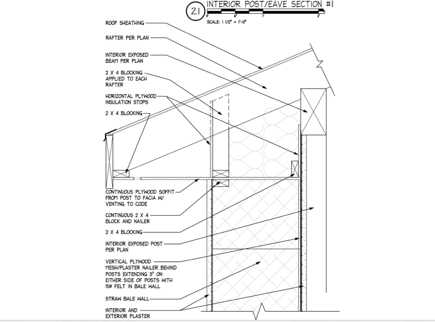 Timber Framing and Straw Bale Construction
