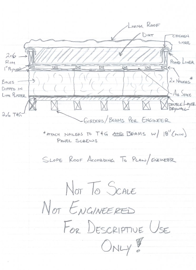 Living Roof Cross Section