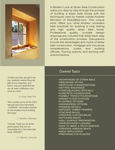 straw bale book back cover