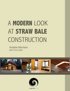 modern look straw bale book
