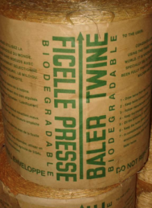 Wire Ties or Poly Twine Bales