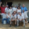 straw bale workshop with Andrew Morrison group photo