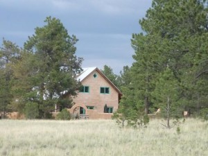 Colorado straw bale home for sale