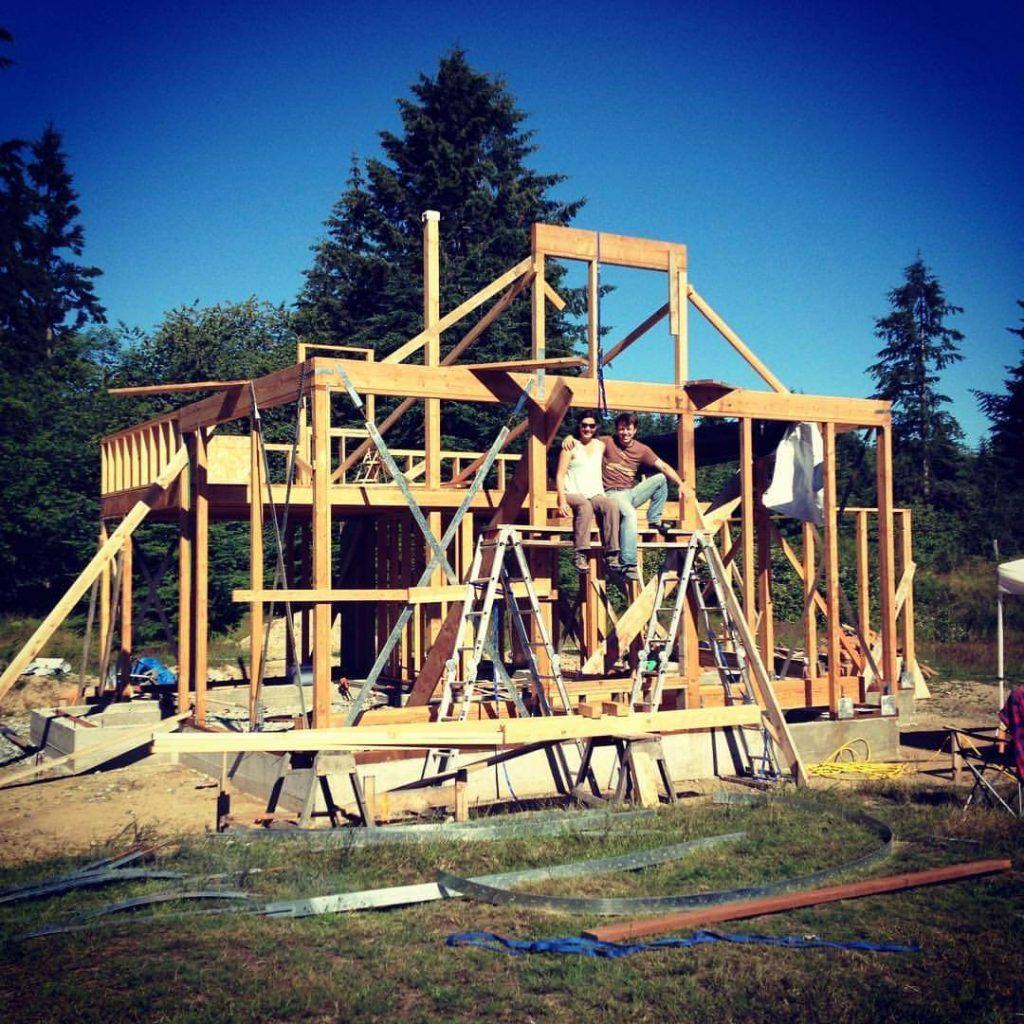 Framing the Applegate Cottage