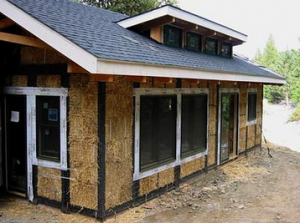 Straw Bale House