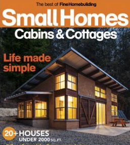 Straw bale home is cover of fine homebuilding for Fine homebuilding magazine