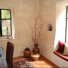 straw bale house window seat