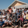 La Grande straw bale Workshop Group Photo