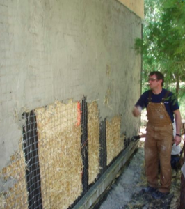 Fire Resistance of Straw Bale Walls