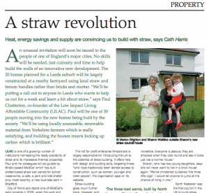 straw revolution article clipping