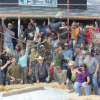 Walsenburg straw bale workshop Group Photo