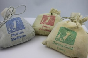 bags of American clay plaster
