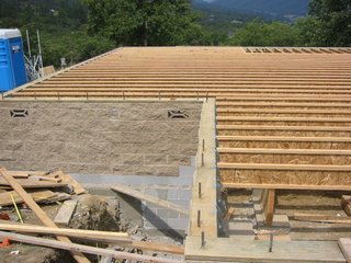 I Am Often Asked If A Straw Bale House Can Be Built Over A Basement. The  Answer Is Always Yes. A Raised Floor System, Either Over A Basement Or  Crawlspace, ...