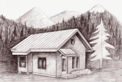 Applegate straw bale cottage