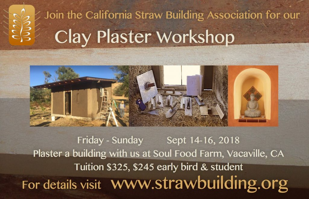 CASBA Clay Plaster Workshop