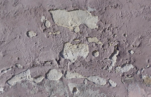 cracked cement plaster