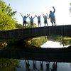 david gill on bridge