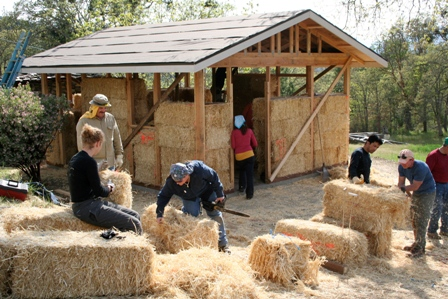 straw bale workshop