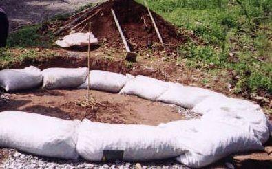 earth bags