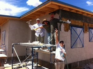 Lime Plastering Party
