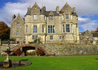 old Scottish castle