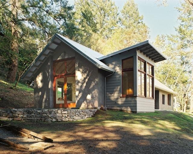 Photo Gallery Wine Creek Residence Strawbale Com